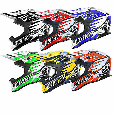 Wulfsport Adult Advance Motocross Off Road Track Race MX Quad Helmet