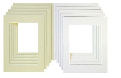 Photo Frame Mounts Bevel Cut Mount for Picture Frame Inserts Instagram Square