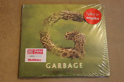 Garbage - Strange Little Birds CD Polish Stickers