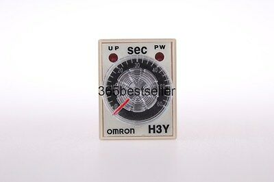 ONE SET DC 12V H3Y-2 Delay Timer Time Relay 0-60 Second 12VDC with Base