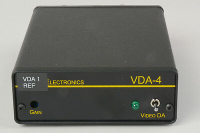 VDA-4-BSTK- Burst VDA-4 1x4 Video Distribution Amplifier (Repaired)