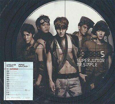 Super Junior 슈퍼쥬니어 Vol.5 Mr. Simple Version B (CD)