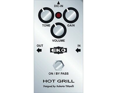 EKO HOT GRILL Pedale distortore