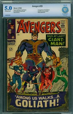 Avengers 28 Cbcs 5.0 - Ow/w Pages