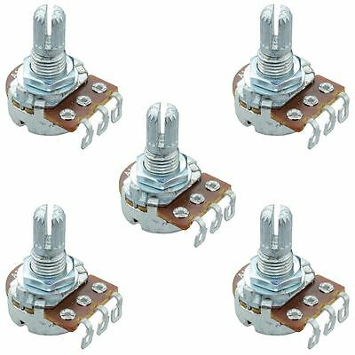 5 x 250K Linear 16mm Potentiometer Pot Solder Lugs
