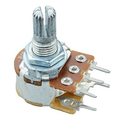 50K Linear 16mm Potentiometer Pot W/Switch