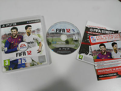 Fifa 12 Ps3 Playstation 3 Español Ea Sports