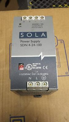 Sola Sdn 4-24-100 Power Supply   B52