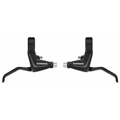 Shimano BL-T4000 Alivio V-Brake Lever Pair Front & Rear Levers BLACK inc. Cables