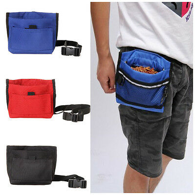 Dog Pet Puppy Snack Obedience Agility Bait Training Food Treat Waist Pouch Bag