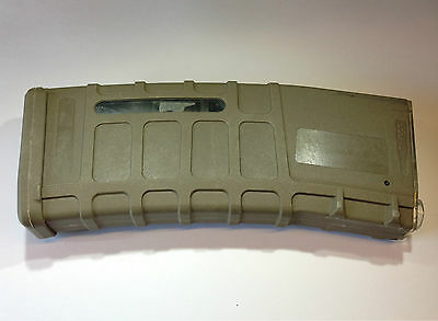 BATTLEAXE M4/M16 300rds P-MAG Magazine for Airsoft Marui AEG Hi Cap Mag(Tan)