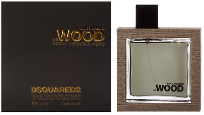 Dsquared 2 He Wood Rocky Mountain Eau De Toilette 100Ml Edt Neu & Ovp