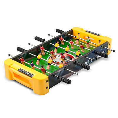 Classic Table Soccer Portable  Football Game For Kids Office New Uk