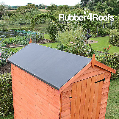 EPDM Rubber Roofing Kit For Shed Roofs Multiple Sizes Available ClassicBond
