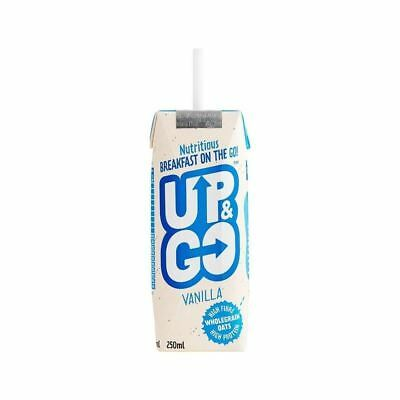 Up&Go Vanilla Breakfast Drink with Oats 250ml