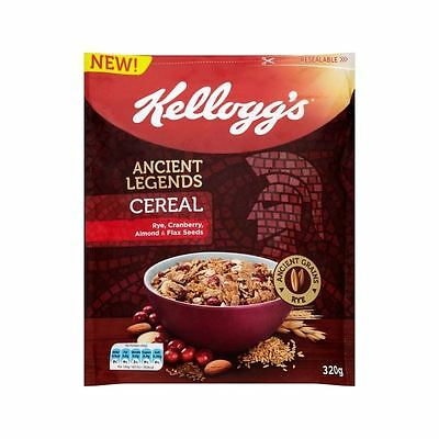 Kellogg's Ancient Legends Cereal Rye, Cranberry, Almond & Flax Seeds 320g