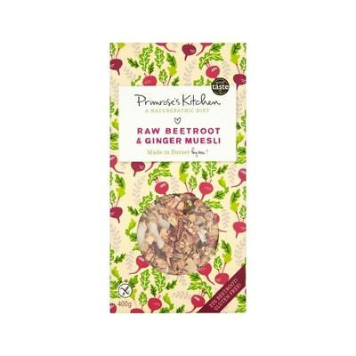 Primrose's Kitchen Raw Beetroot & Ginger Muesli 400g