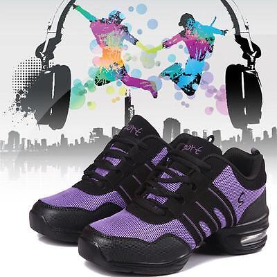 Women Fashion Comfy Modern Jazz Hip Hop Dance Shoes Breathable Sneakers