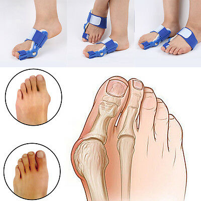 Day Night Bunion Splint Big Toe Care Corrector Hallux Valgus Straightener Foot #