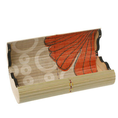 Portable Bamboo Wooden Sunglasses Box Case Eye Glasses Clam Shell Protector