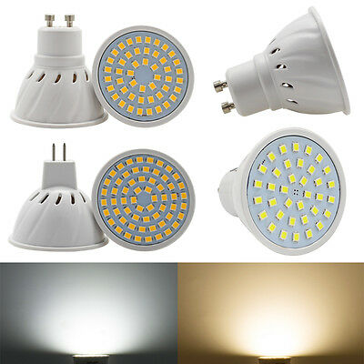 GU10 MR16 LED Spotlight 3W 4W 5W 6W 7W  220V DC12V Bulb Warm Day White Lamp