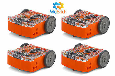 Meet Edison V2 affordable programmable LEGO® Compatible Robot x4 pack