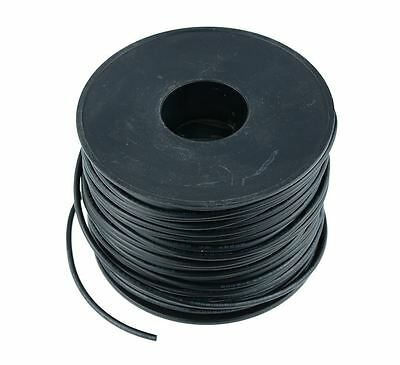 Black 1mm PVC Stranded Automotive Wire Cable 32/0.2mm 50M Reel