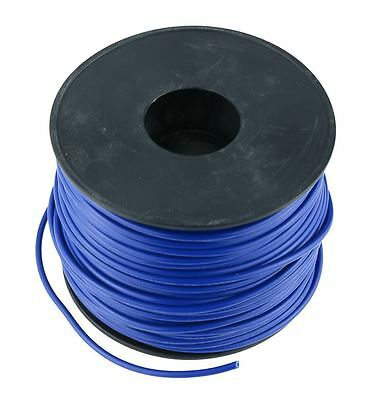 Blue 1mm PVC Stranded Automotive Wire Cable 32/0.2mm 50M Reel