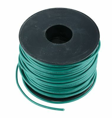 Green 1mm PVC Stranded Automotive Wire Cable 32/0.2mm 50M Reel