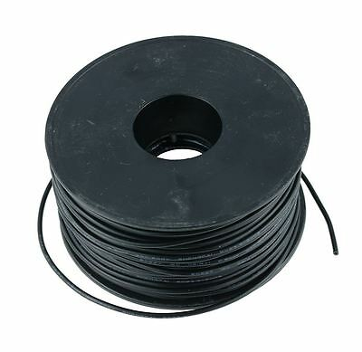 Black 0.5mm PVC Stranded Automotive Wire Cable 28/0.15mm 50M Reel