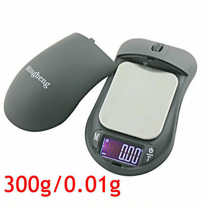 New 300g 0.01g Portable Digital Gram Precise Jewelry Scale Mini Mouse Style HT