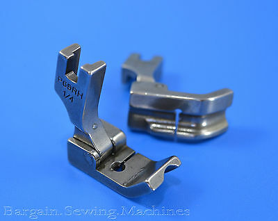 """Piping Cording Foot 1/4"""" RIGHT Side For JUKI SINGER Industrial Machines P69RH"""