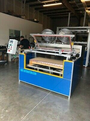 "Sibe Automation Vacuum Forming Machine 24"" X 48"" Thermoforming 8 Zone Infrared"
