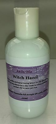 Witch Hazel Floral Water Skin Toner Puffy Eyes Stops Itching Wound Cleaner 100ml