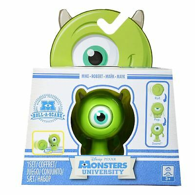 Monsters University SULLEY, Mike or Squishy - Roll, Pop Scare! - NEW