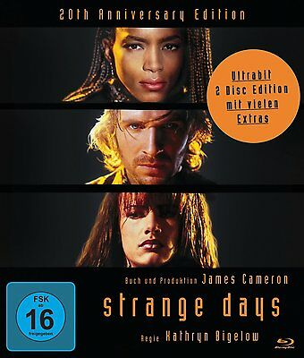Strange Days - 20th Anniversary Edition [Blu-ray](NEU/OVP) Ralph Fiennes,