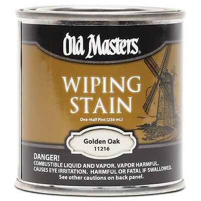 Old Masters Wiping Stain Golden Oak Quart