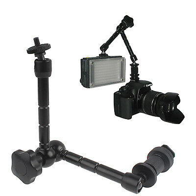 TECNICO Black 11 inch Articulating Magic Arm for LCD Field Monitor / DSLR Camer