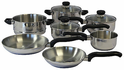 Ready Steady Cook Classic 7 Piece Cookware Set
