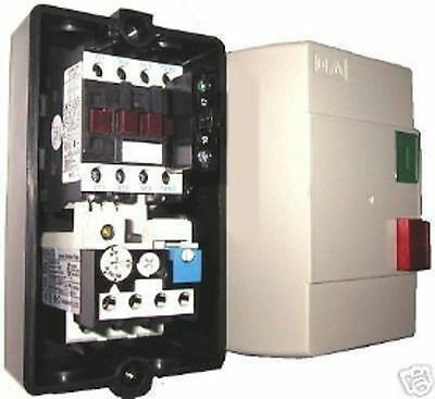 Enclosed Motor Starter Contactor & Overload  Start Stop 11-14A,220 Coil 7.5Hp