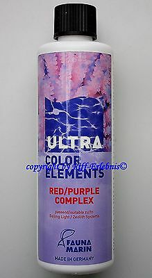 Ultra Color Elements Red / Purple Fauna Marin 250ml Spurenelemente 55,80€/L