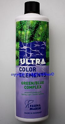 Ultra Color Elements Green / Blue Fauna Marin 500ml Spurenelemente 39,90€/L