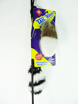 Interactive Dog Toy Tail Teaser