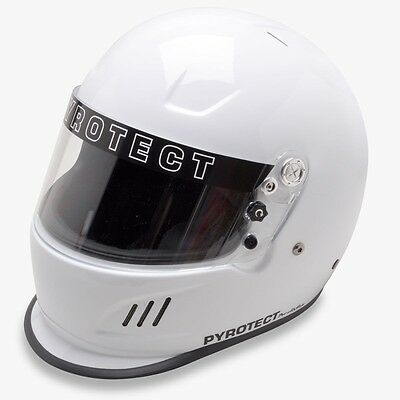 Pyrotect Bell Racing Dot Helmet Off Road Xxl White Sa2010 Full Face Off Road