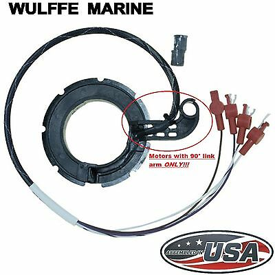 Trigger Mercury Mariner 75 80 Hp 4 Cyl Hooked Link Arm 134-6454 77000A1 96453A2