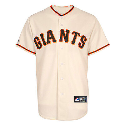 MLB Baseball Trikot Jersey SAN FRANCISCO GIANTS Home Creme von Majestic