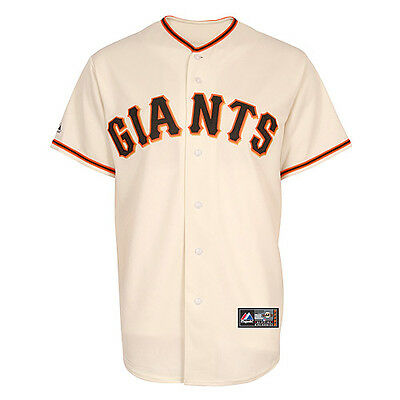 MLB Baseball Trikot Jersey SAN FRANCISCO GIANTS - Home Creme - von Majestic
