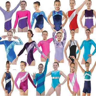 Gymnastics Leotard Dance Costume Girls Lycra Competition Hologram Costume Shine