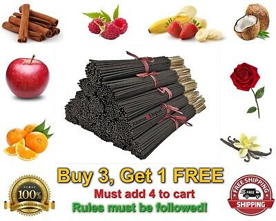 100 Incense Premium Sticks Hand Dipped 11'' Inches High Quality Handmade Bulk