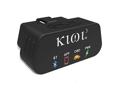 PLX Kiwi 3 OBD2 OBDII Scanner Code Reader Adapter Wireless Bluetooth iOS/Android